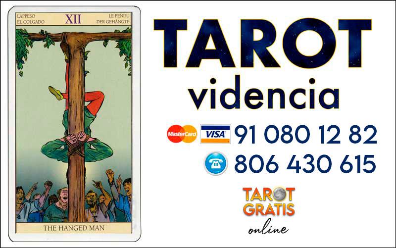 El Colgado - cartas del tarot - el tarot gratis online