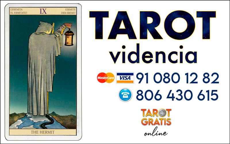 El Ermitaño - cartas del tarot - el tarot gratis online
