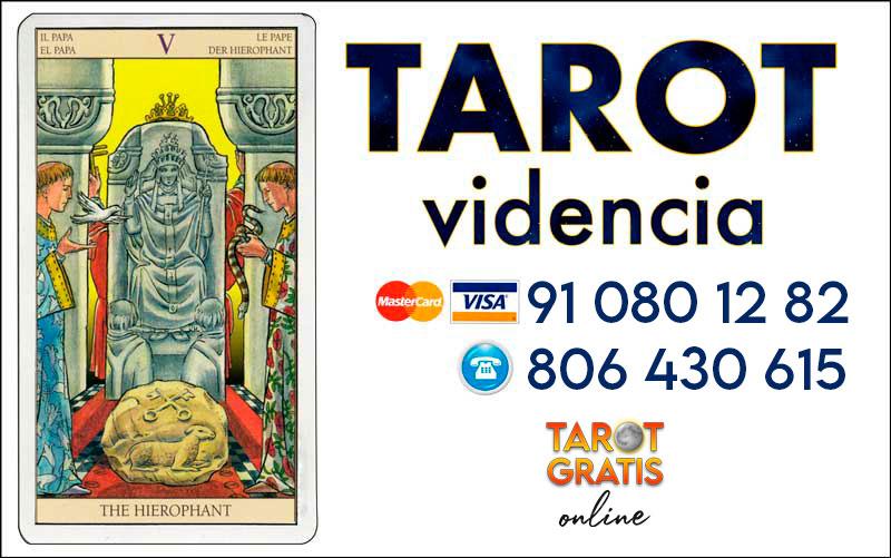 El Sumo Sacerdote - cartas del tarot - tarot gratis online