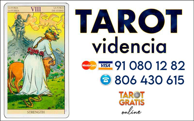 La Fuerza - cartas del tarot - el tarot gratis online