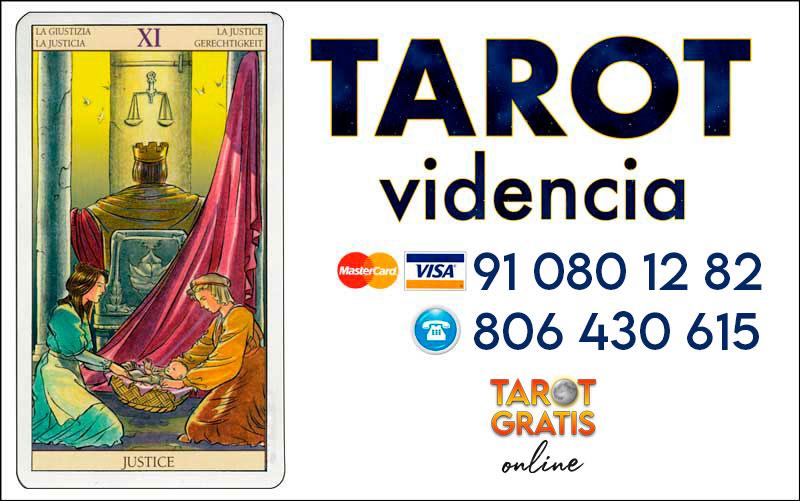 La Justicia - cartas del tarot - el tarot gratis online