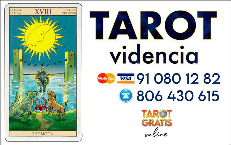 La Luna - cartas del tarot - el tarot gratis online