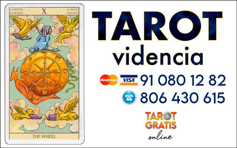La Rueda de la Fortuna - cartas del tarot - el tarot gratis online