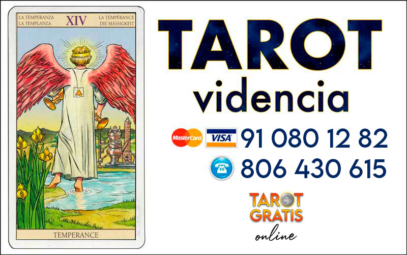 La Templanza - cartas del tarot - el tarot gratis online