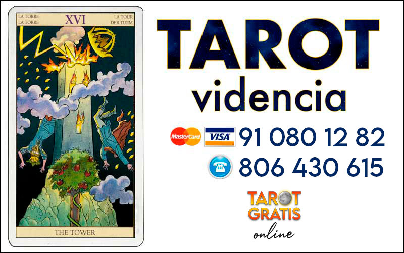 La Torre - cartas del tarot - el tarot gratis online