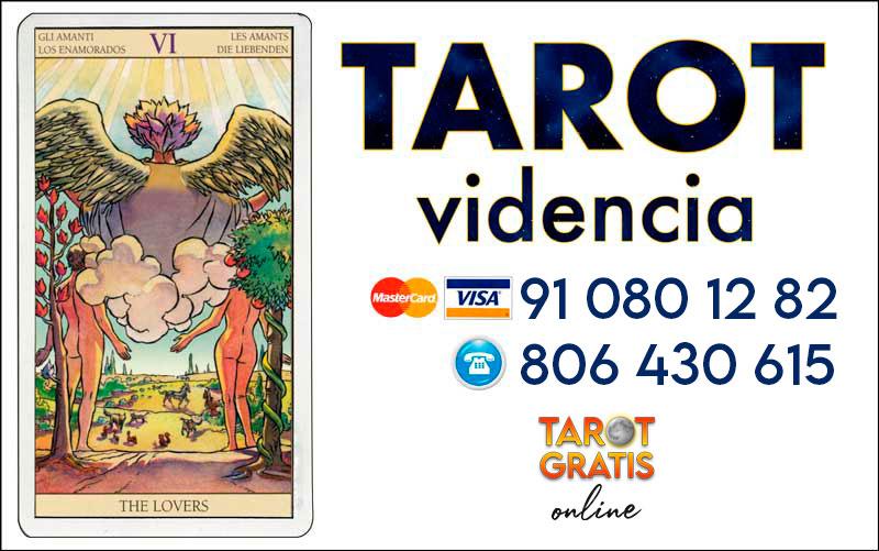Los Enamorados - cartas del tarot - tarot gratis online